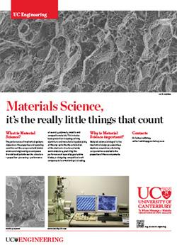 Materials Science engineering poster