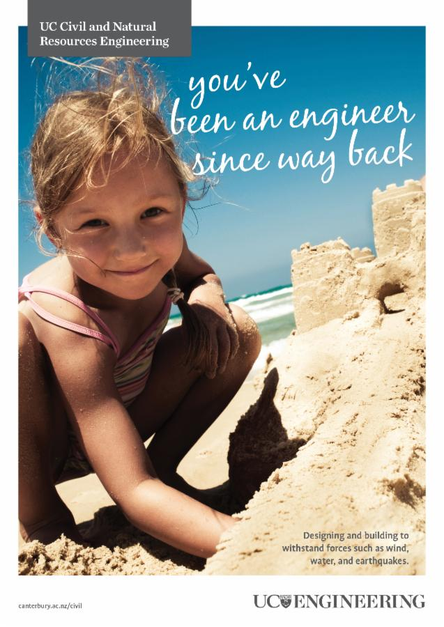 Civil and Natural Resources Engineering - Sandcastle