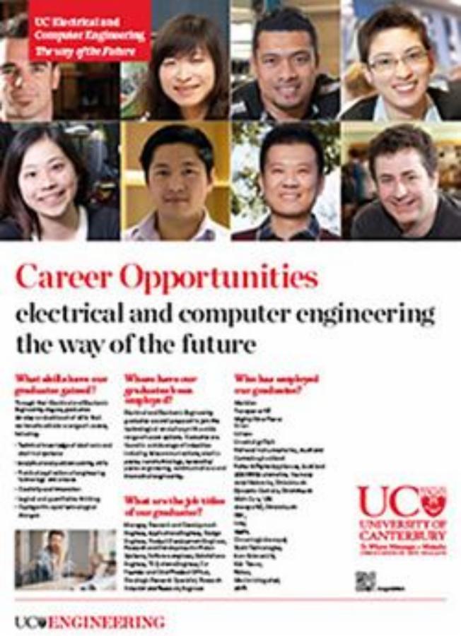 Career opportunities engineering poster