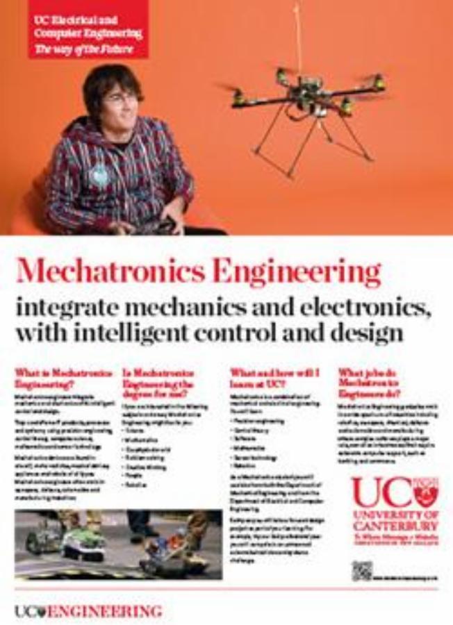 mechatronics engineering poster