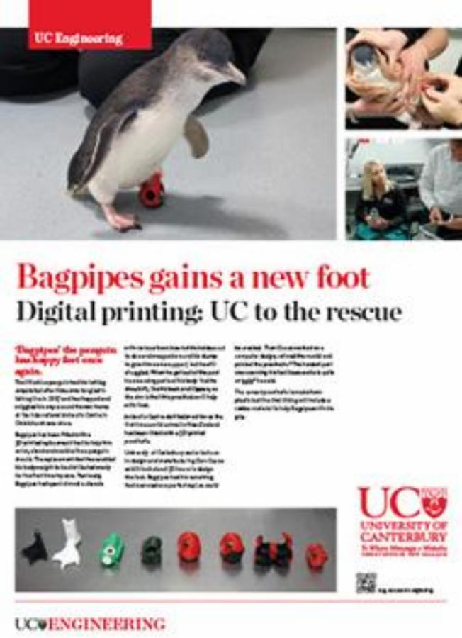 bagpipes gains a new foot engineering poster