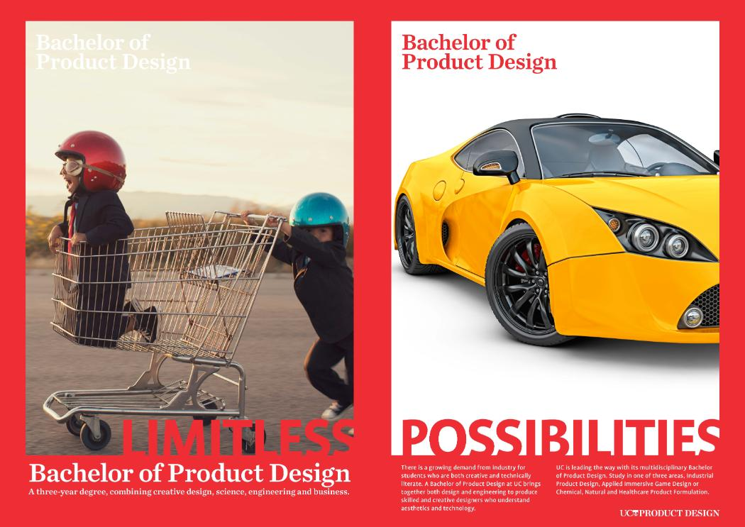 Product Design Poster car