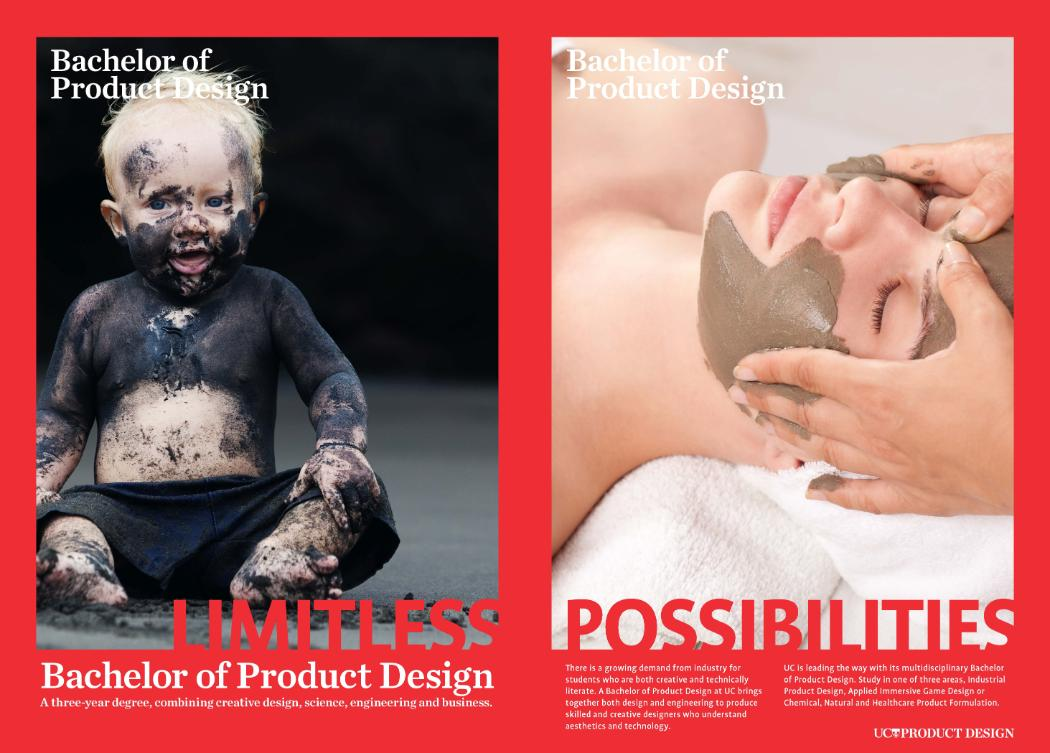Product Design Poster mud mask