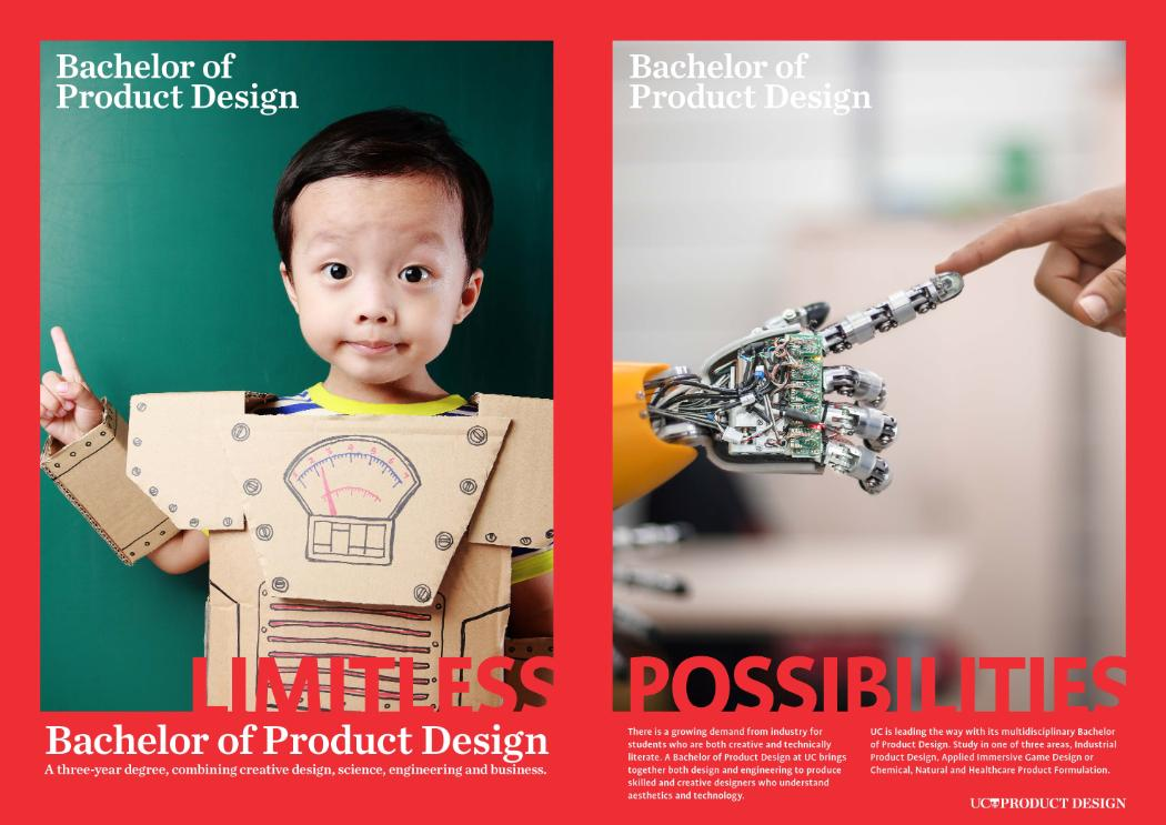 Product Design Poster robot