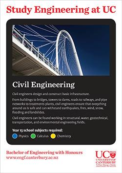 Study engineering at UC Civil engineering