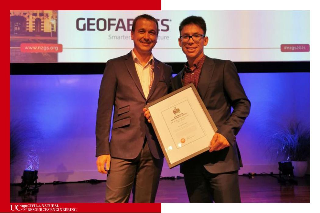 Mark Stringer-NZGS award