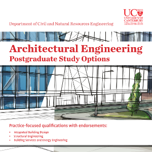 Architectural engineering information brochure for postgraduate study