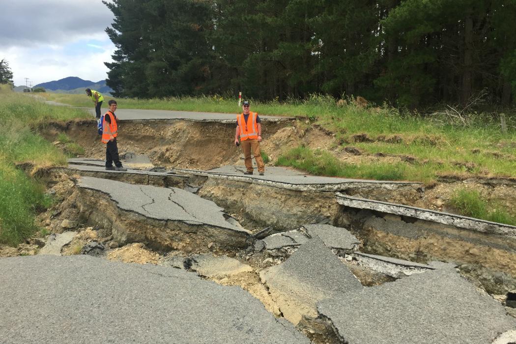 Earthquake damage 2016