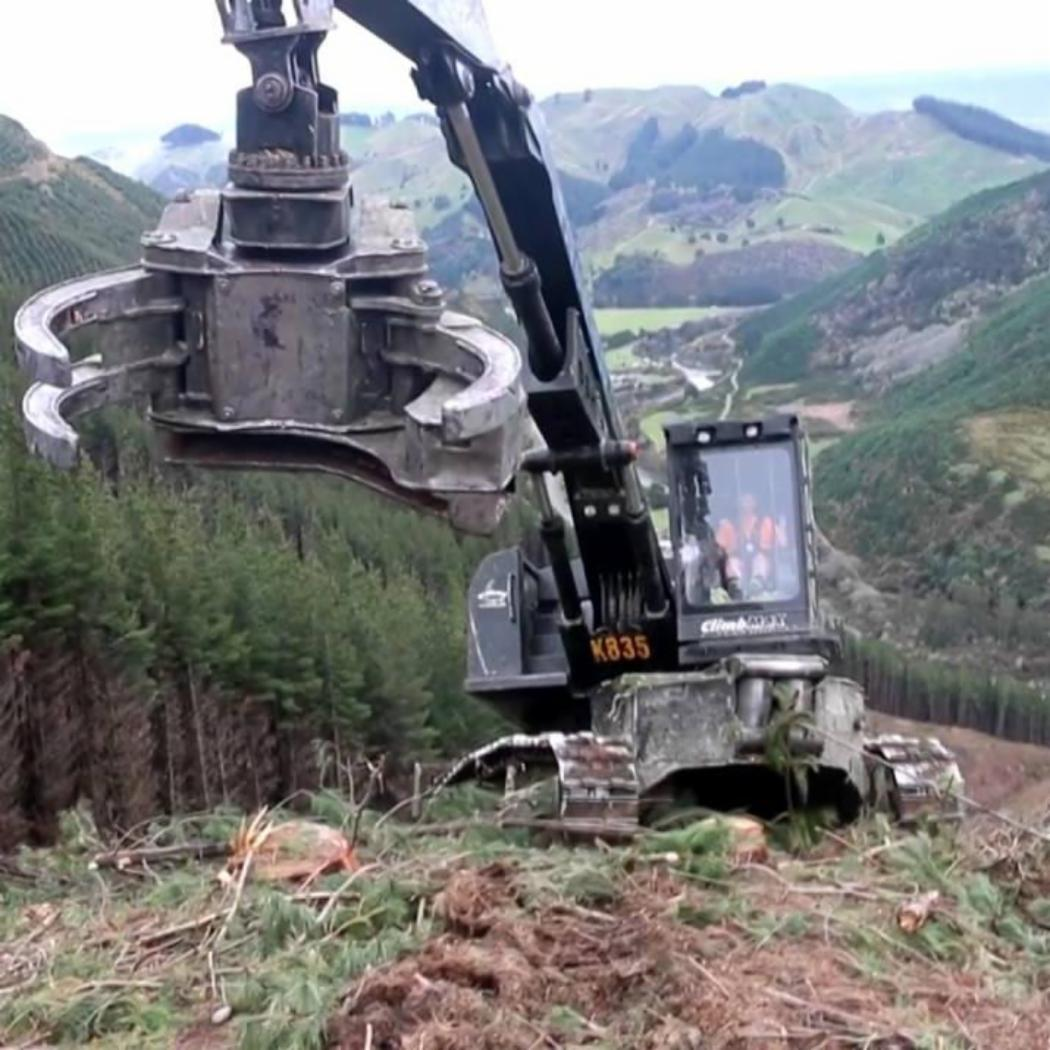 ClimbMAX steep slope harvester