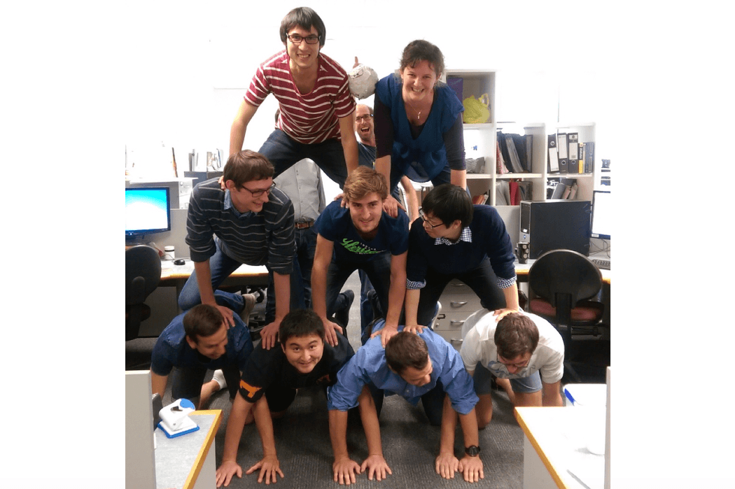 Bioengineering team, pyramid