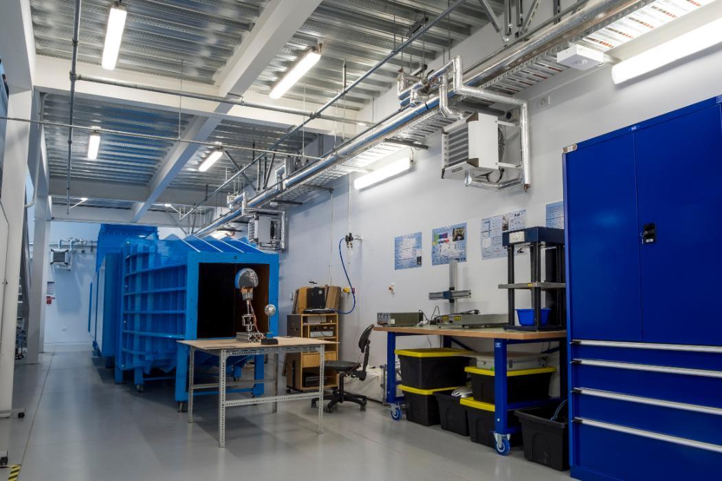 Fluids lab, Wind tunnel