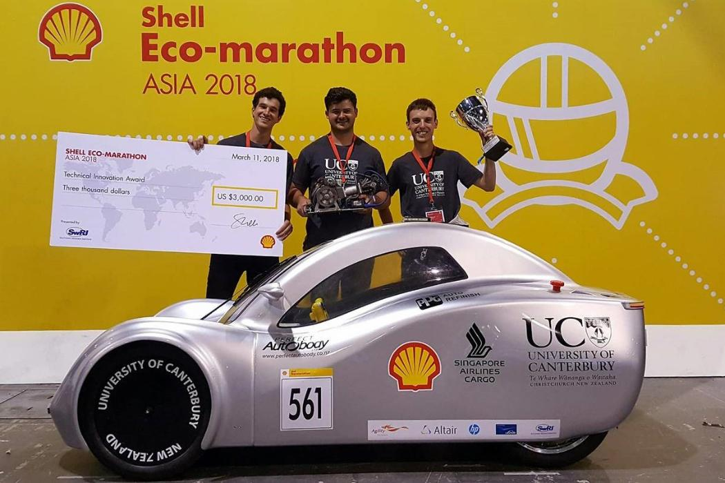 Shell Eco-Marathon Car 2018