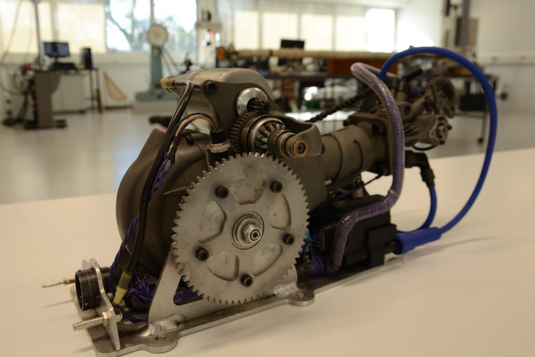 Shell Eco-marathon car_3D engine