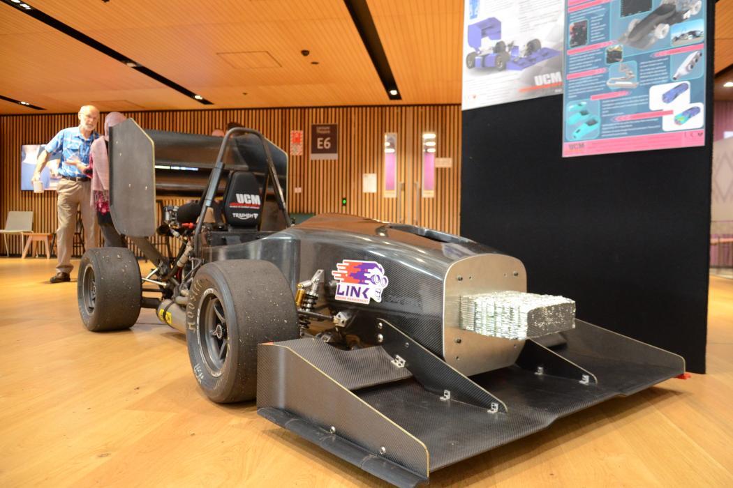 FYP event 2018, a car