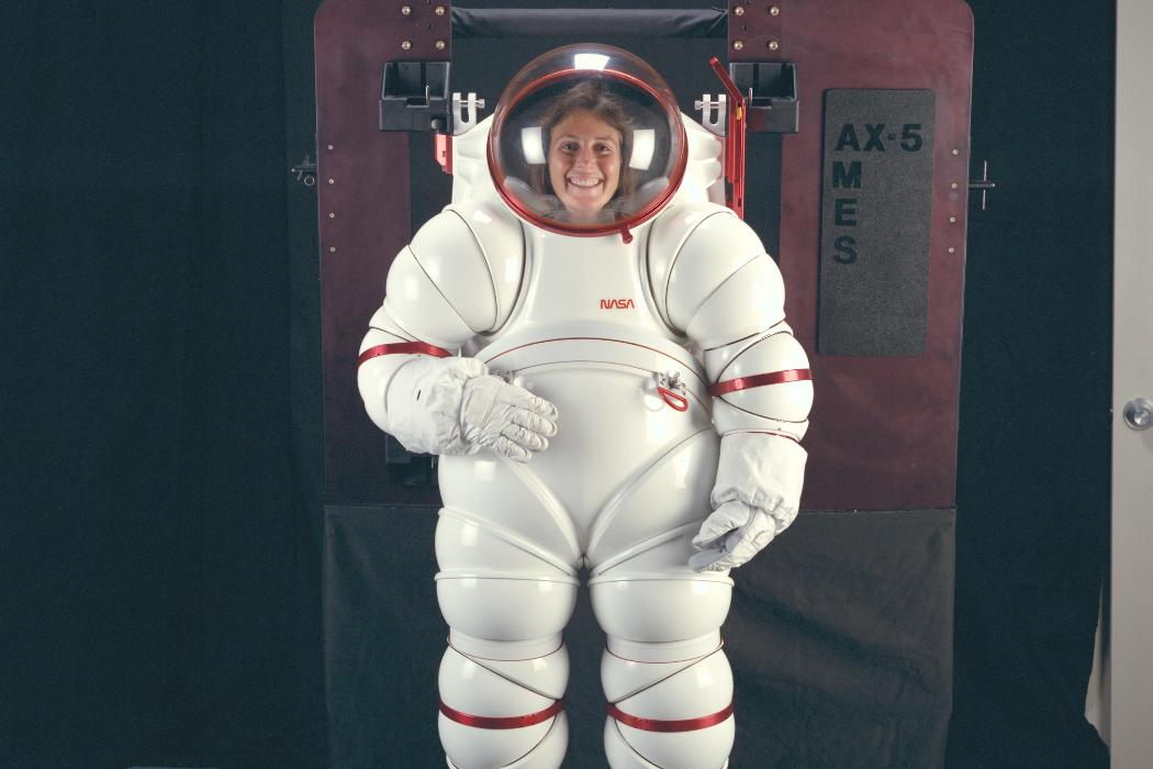 Debbie Munro_AX5 spacesuit