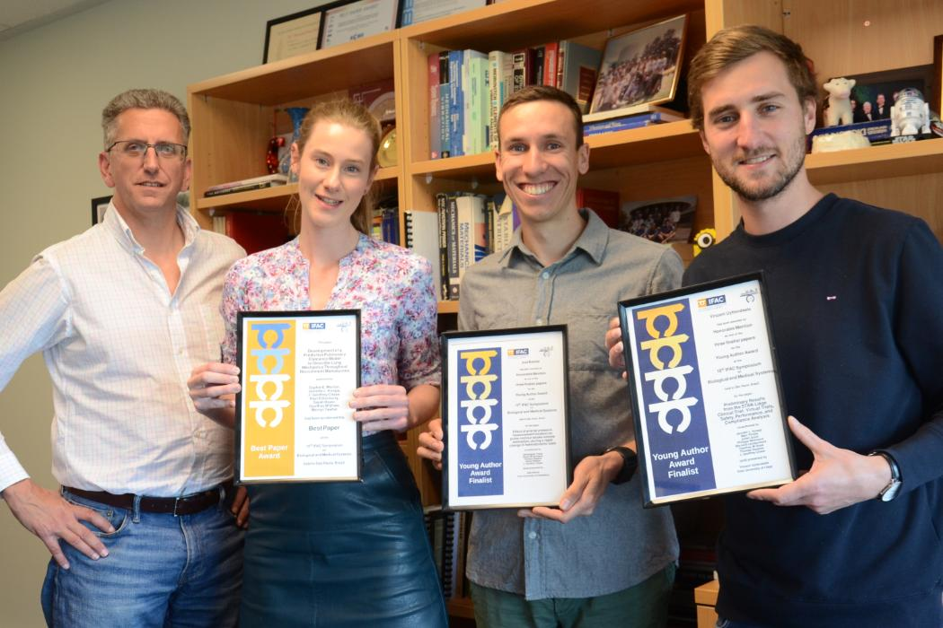 Geoff Chase, students' awards (IFAC BMS 2018)