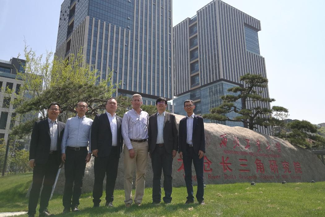 Geoff Chase, Cong Zhou, NPU, China