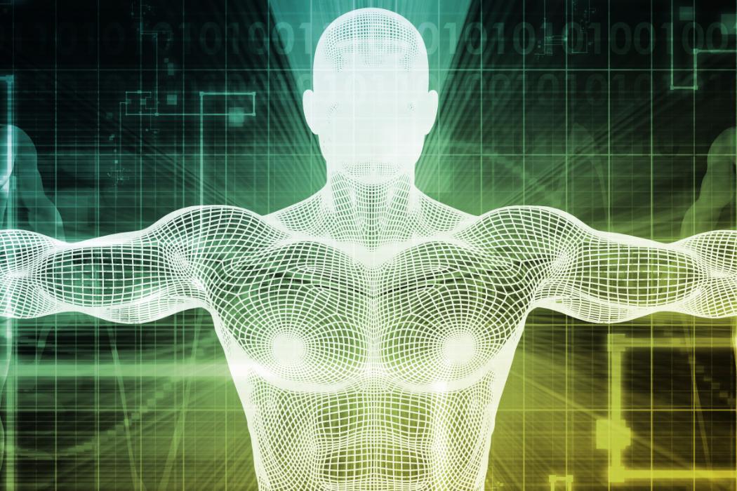 3d model of exoskeleton