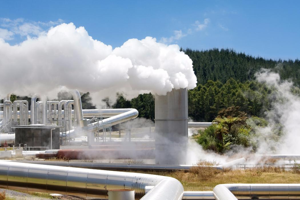 Geothermal energy station