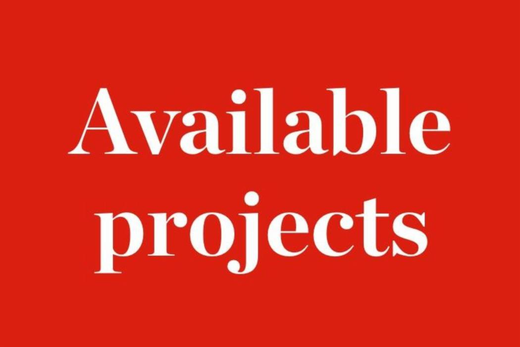 Available projects block
