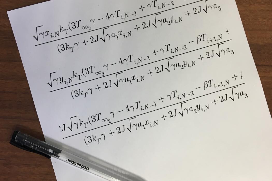 Numerical methods, Mathieu Sellier