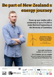 2019 Scholarship Poster Jozef Crosland