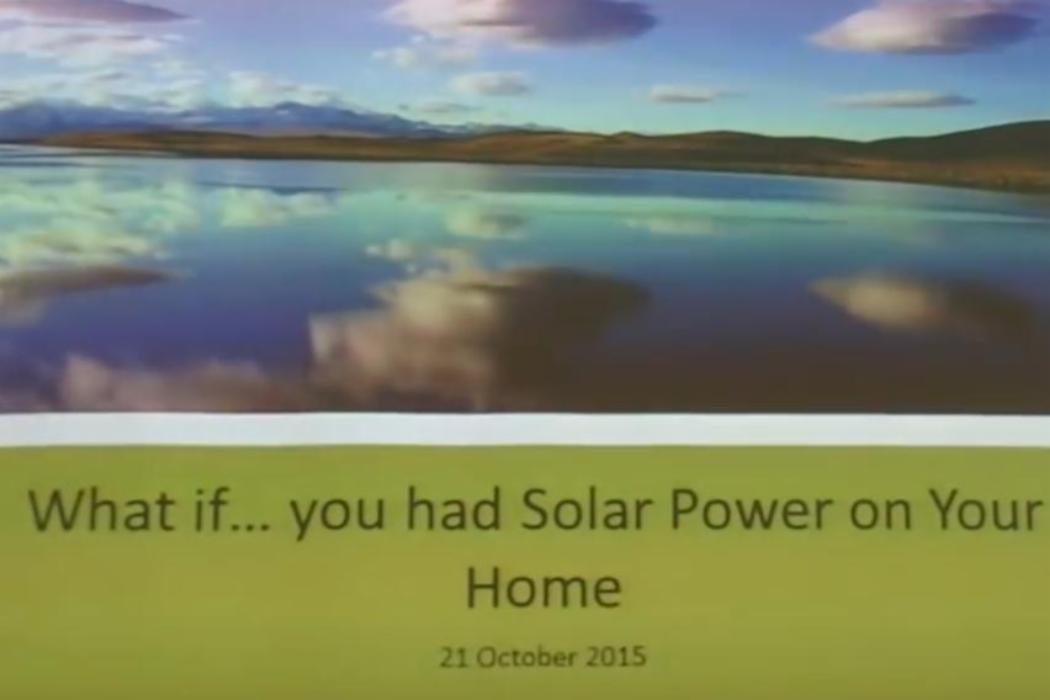 Thumbnail What if you had solar power on your home
