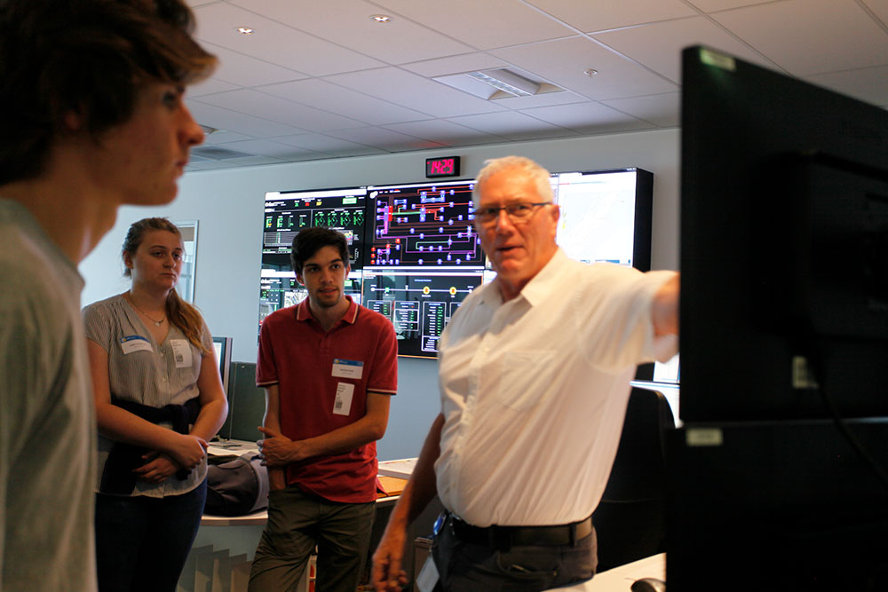 Orion Control Room visit