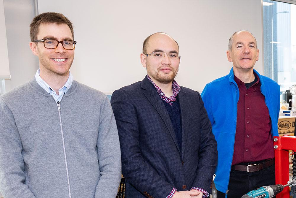 Ryan, Nurzhan and Bill