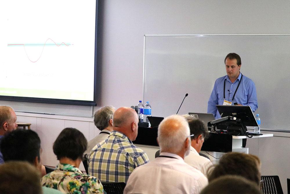 Josh Schipper presenting