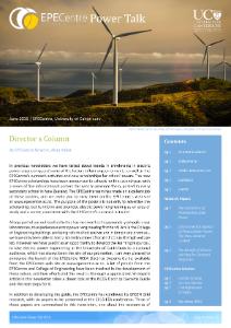 EPECentre Power Talk June 2015