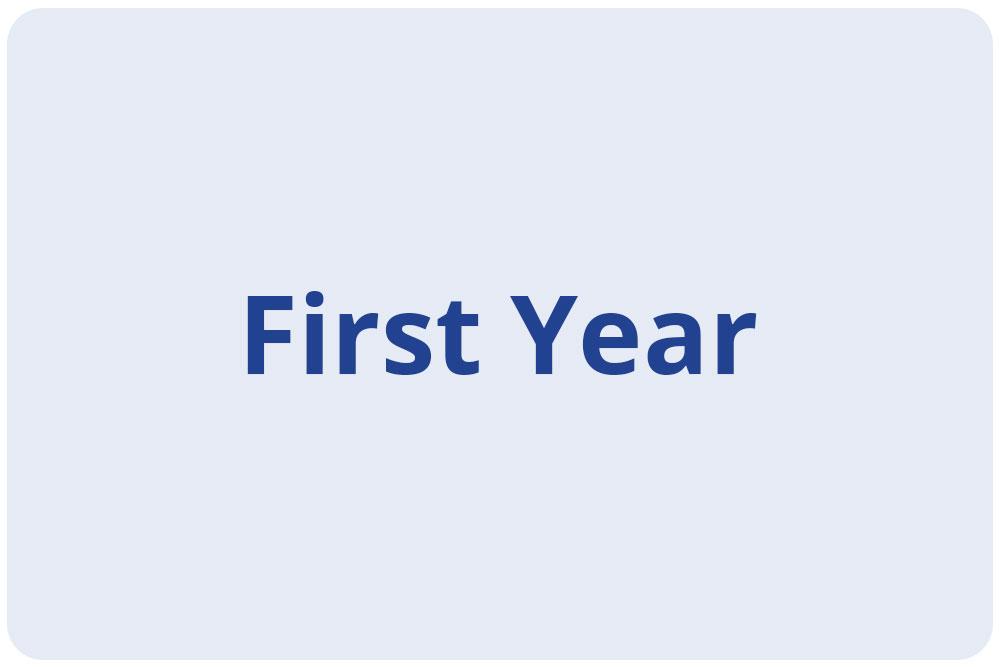 Scholars - First Year