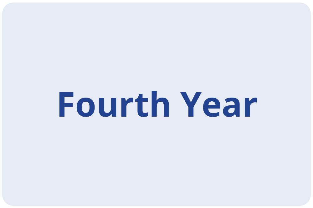 Scholars - Fourth Year