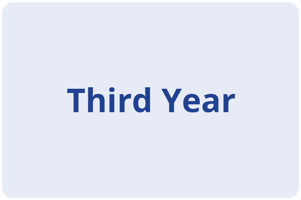 Scholars - Third Year