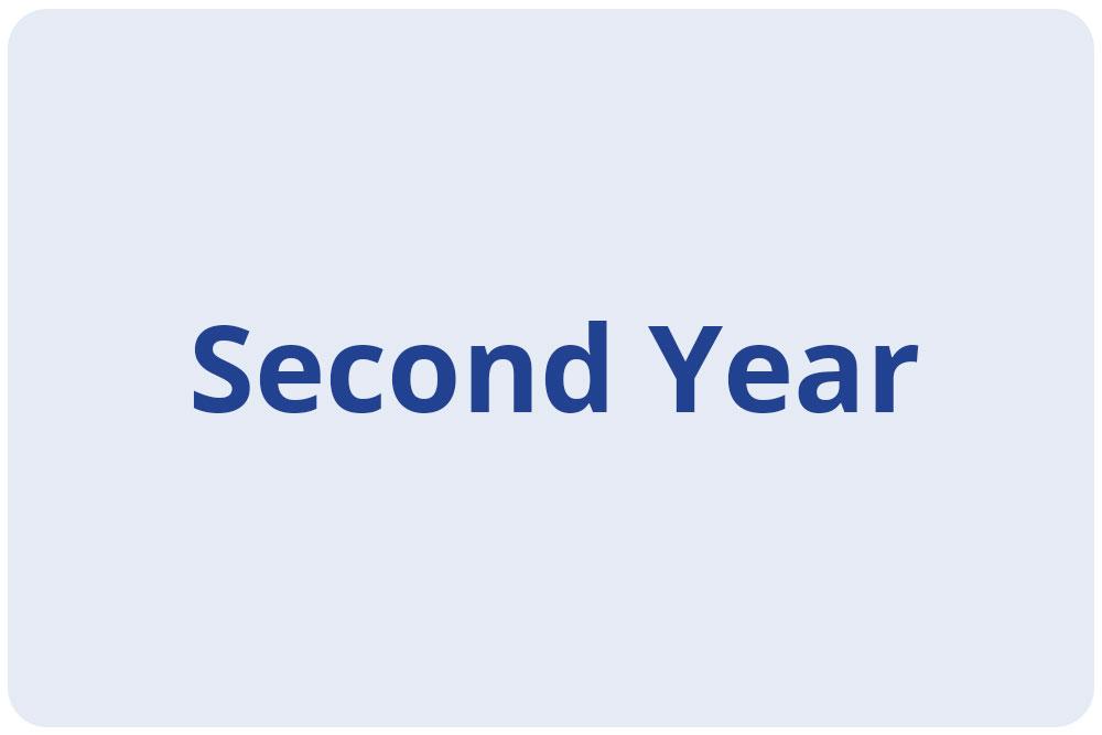 Scholars - Second Year