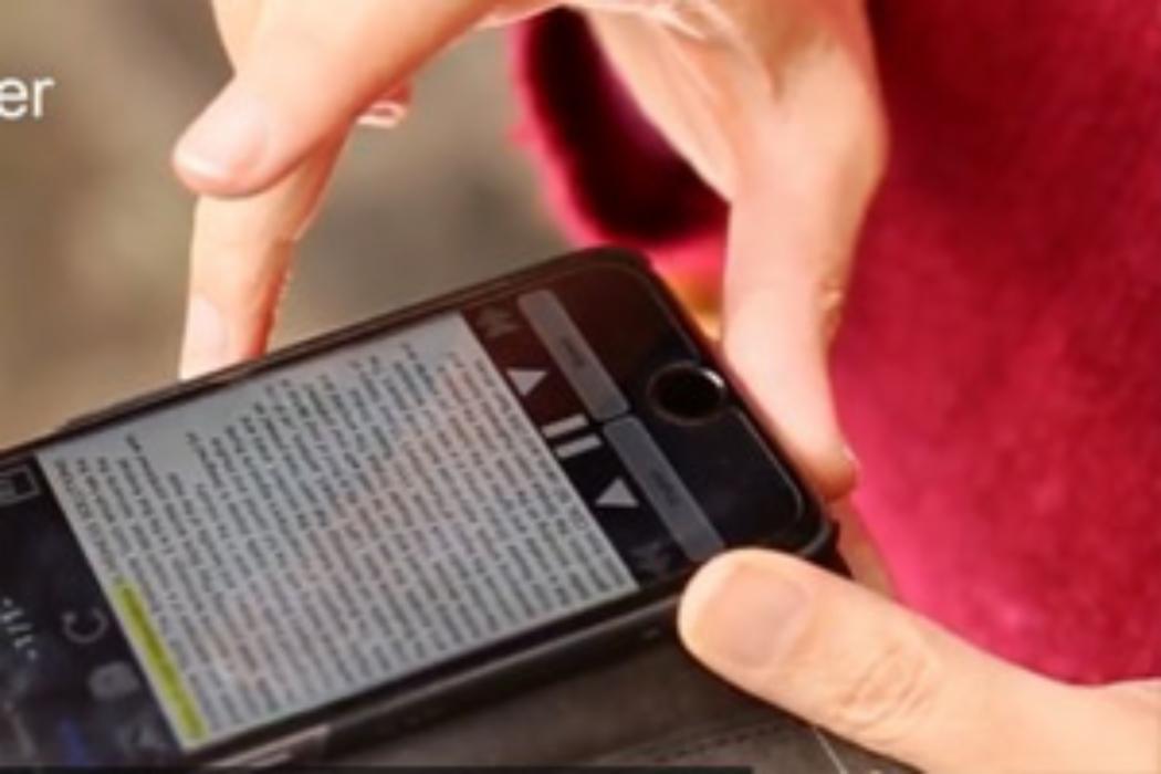 Screen reader technology