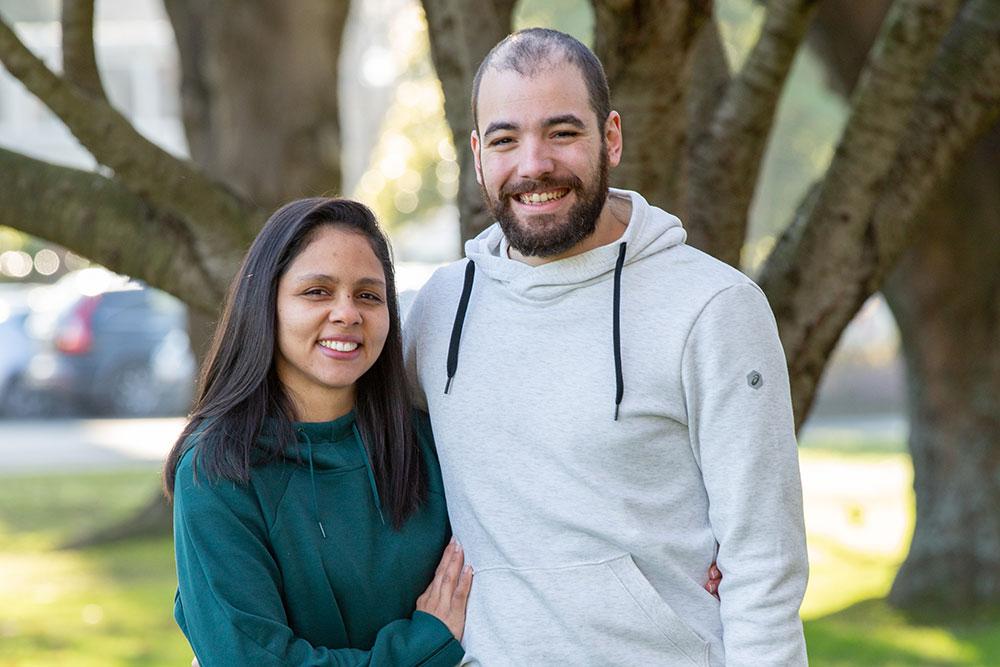 Bianca Couto de Aguiar and Ricardo Pimenta