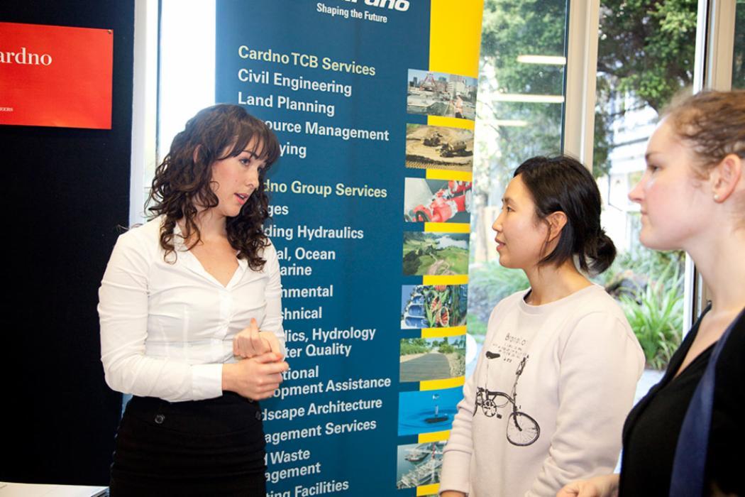 Career fair advisor engineering landscape