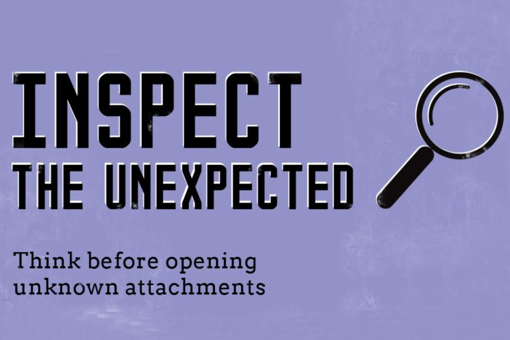 Inspect the unexpected