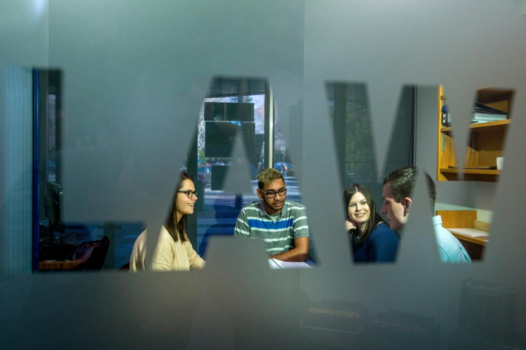 Students in Law Clinic