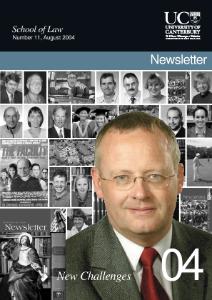 School of Law Newsletter 2004
