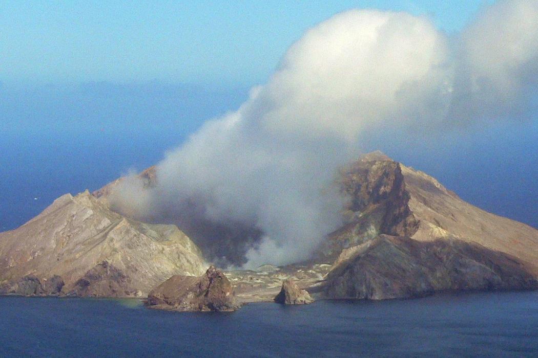Lead volcano