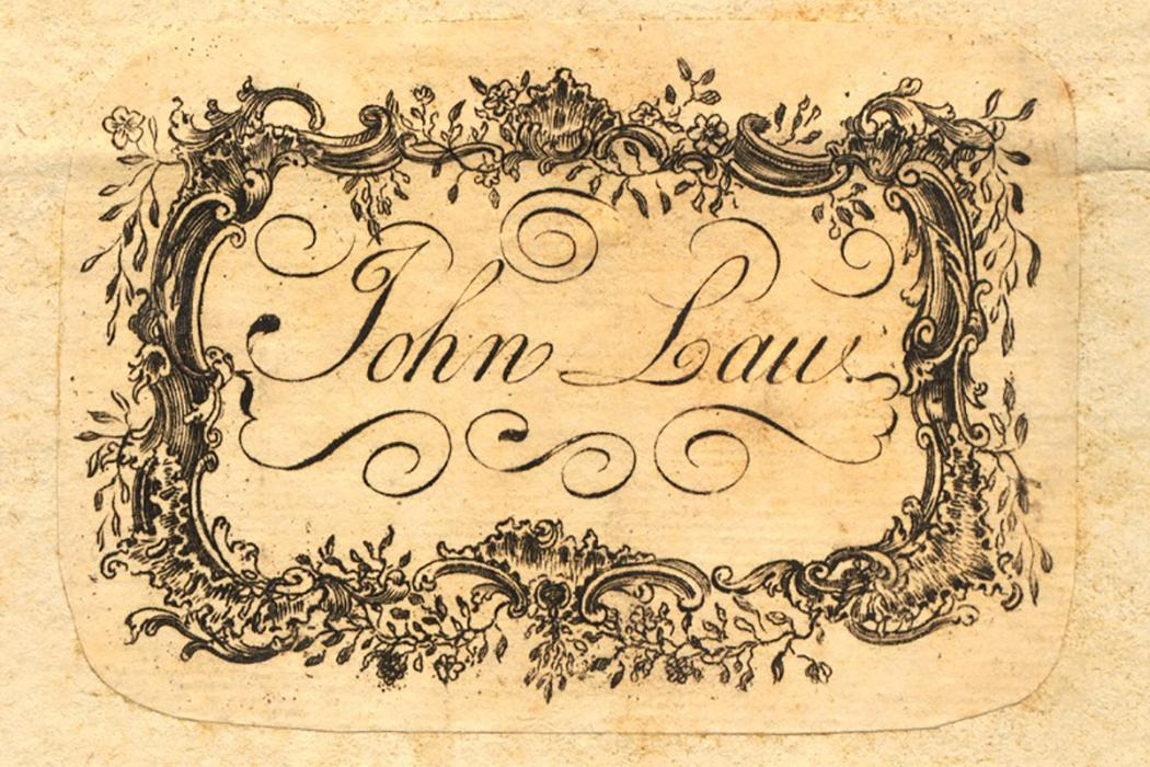Library Provenance - Law Commentaries - Laws England Bookplate