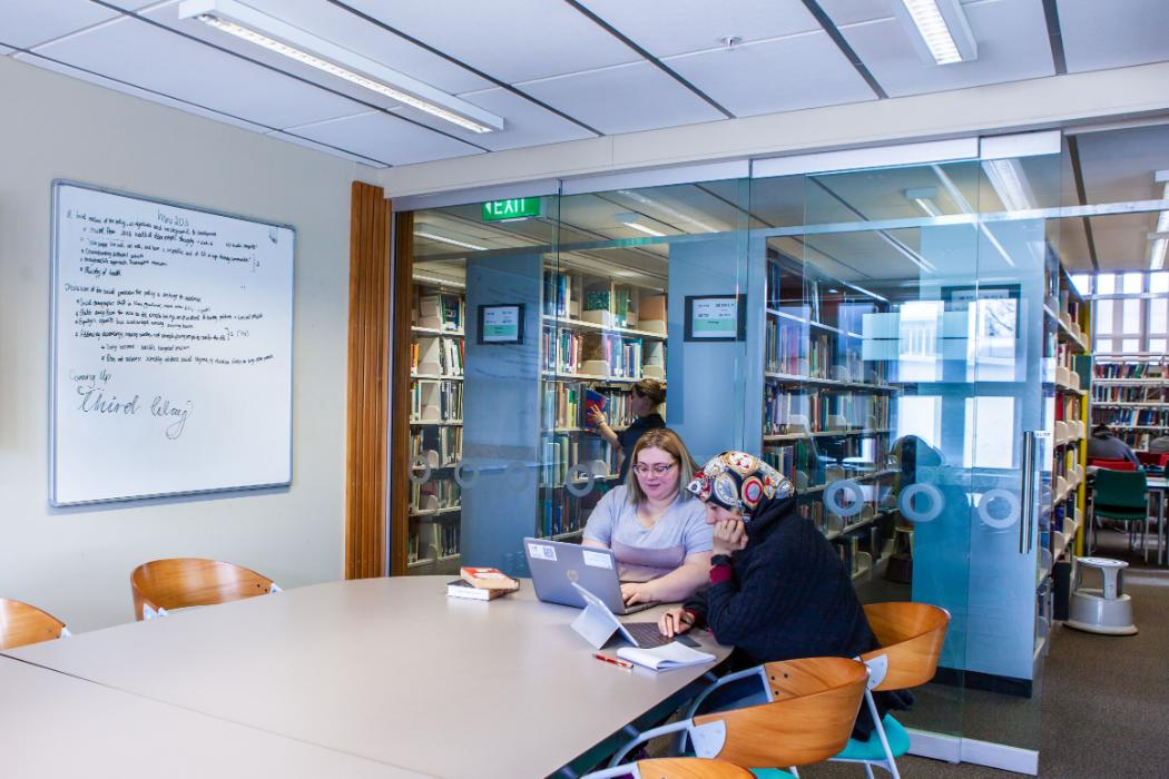 EPS Discussion Room Study Spaces