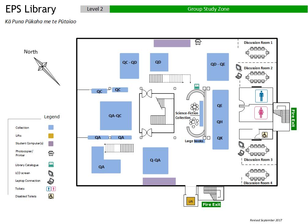 EPS Library level 2 Floor Plan