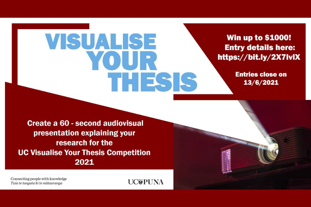 UC Visualise Your Thesis 2021