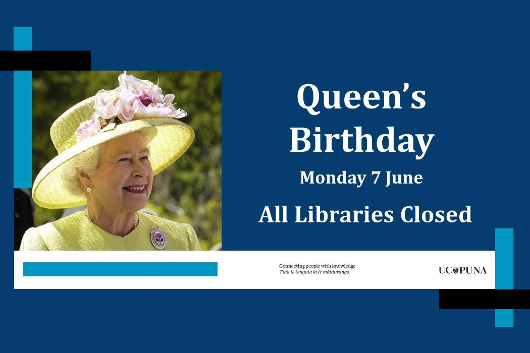 Queens birthday library hours 2021