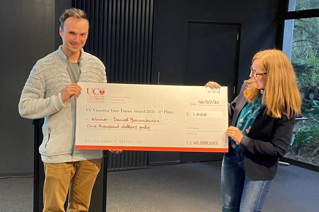 Visualise Your Thesis 2021 winner