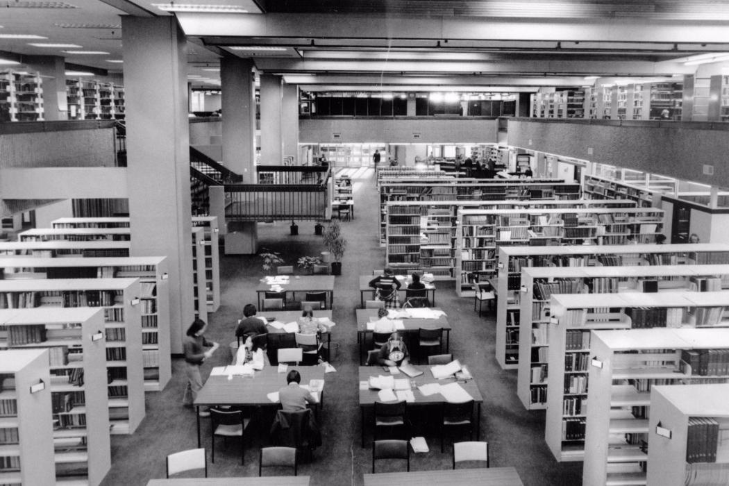 UC Library Image of the Week Central Library c1975