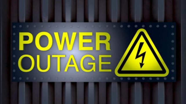 Power Outage - Imported from Library News system